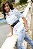 przypadkowe mody nastolatków modelu Zdjęcia Stock