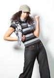 przypadkowej mody seksowna kobieta Zdjęcia Royalty Free