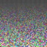 Przypadkowi barwioni kwadraty Zdjęcie Stock