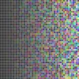Przypadkowi barwioni kwadraty Obrazy Royalty Free