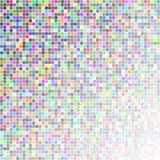 Przypadkowi barwioni kwadraty Zdjęcie Royalty Free