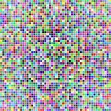 Przypadkowi barwioni kwadraty Obrazy Stock