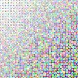 Przypadkowi barwioni kwadraty Zdjęcia Royalty Free