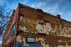 Przypadkowy budynek w Asheville, Pólnocna Karolina, usa Obraz Royalty Free