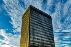 Przypadkowy budynek w Asheville, Pólnocna Karolina, usa zdjęcia stock