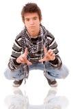 Przypadkowy chłodno młody facet Fotografia Royalty Free