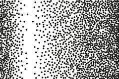 Przypadkowy halftone Pointylizmu styl Tło z nieregularnymi, chaotycznymi kropkami, punkty, okrąg ilustracja wektor