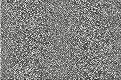 Przypadkowy halftone Pointylizmu styl Tło z nieregularnymi, chaotycznymi kropkami, punkty, okrąg ilustracji