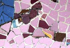Przypadkowy mozaika wzór - Gaudi Zdjęcie Stock