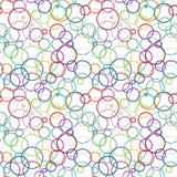 Przypadkowy okrąg ilustracja wektor