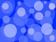 Przypadkowy okręgu wzoru błękit obrazy royalty free