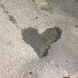 Przypadkowy serce Zdjęcia Stock