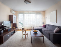przypadkowy żywy pokój Fotografia Royalty Free