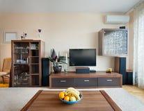 przypadkowy żywy pokój Zdjęcia Royalty Free