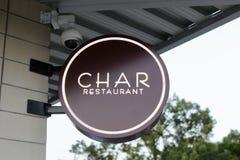 Przypala Restauracyjnego Memphis, TN Zdjęcie Stock