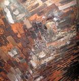 Przypalająca Czerwonej cegły Wysklepiająca ściana Zdjęcia Stock