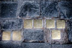 Przypomnienie holokaust Fotografia Royalty Free