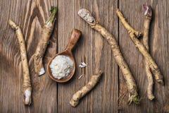 Przyprawiać kraciasty horseradish Obrazy Stock
