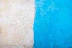 Przyrodni błękit i stara betonowa tapeta Zdjęcie Stock