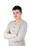 przyrodni długości portreta nastolatek zdjęcie royalty free