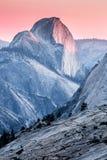 Przyrodni kopuła zmierzch, Yosemite park narodowy zdjęcie royalty free