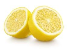 Przyrodnia cytryna cytrusa owoc na bielu obraz stock