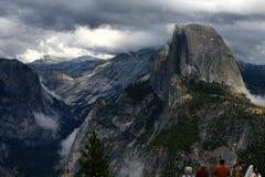 Przyrodnia kopuła, granitowa kopuła w Yosemite dolinie, Yosemite park narodowy, Kalifornia, usa Fotografia Royalty Free