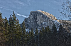 Przyrodnia kopuła przy Yosemite park narodowy Zdjęcie Royalty Free