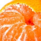 przyrodnia mandarynka strugał zdjęcia stock