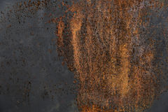 Przyrodnia ośniedziała metal powierzchnia Zdjęcia Royalty Free