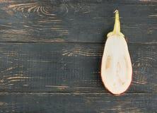 Przyrodnia purpurowa oberżyna Fotografia Stock