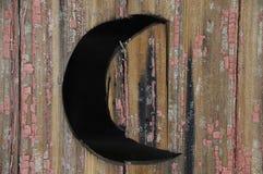 Przyrodniej księżyc drzwi Fotografia Stock
