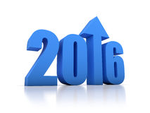 Przyrost 2016 Z strzała Zdjęcie Stock