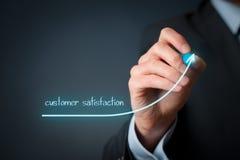 Przyrostowa klient satysfakcja obraz stock