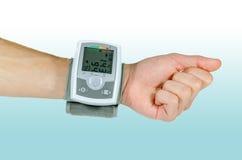 Przyrząd dla ciśnienia krwi tętna Zdjęcie Royalty Free