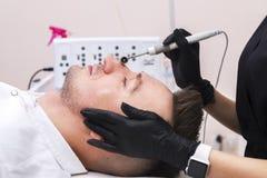 Przyrząd jest twarzowym kosmetologią obrazy stock