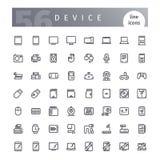 Przyrząd Kreskowe ikony Ustawiać Fotografia Stock