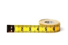 przyrząd zamierzająca długości miara pomiaru taśmy Obraz Royalty Free