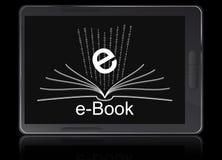 przyrządu ebook czytelnik Zdjęcie Royalty Free