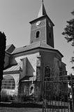 Przyschnięty kościół Zdjęcia Stock