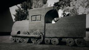 Przyschnięty pociąg zdjęcia royalty free
