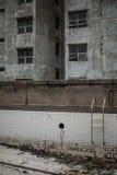 Przyschnięty, stary pływacki basen, Zdjęcie Stock