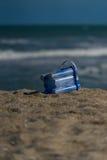 Przyschnięty piaska wiadro Fotografia Stock