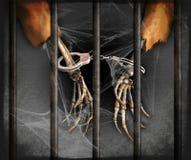 Przyschnięty więzień Obrazy Stock