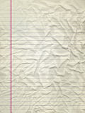 przyskrzyniająca papierowa tekstura Fotografia Royalty Free