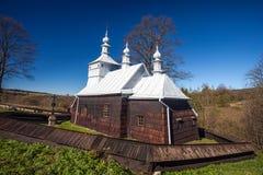 Православная церков церковь в Przyslup, Польше Стоковая Фотография
