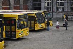 Przystanek autobusowy Obrazy Royalty Free