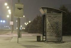 przystanek autobusowy Fotografia Stock