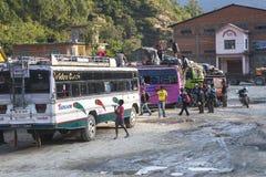 Przystanek autobusowy w Beni Fotografia Royalty Free