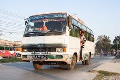 Przystanek autobusowy w Pokhara Obrazy Stock